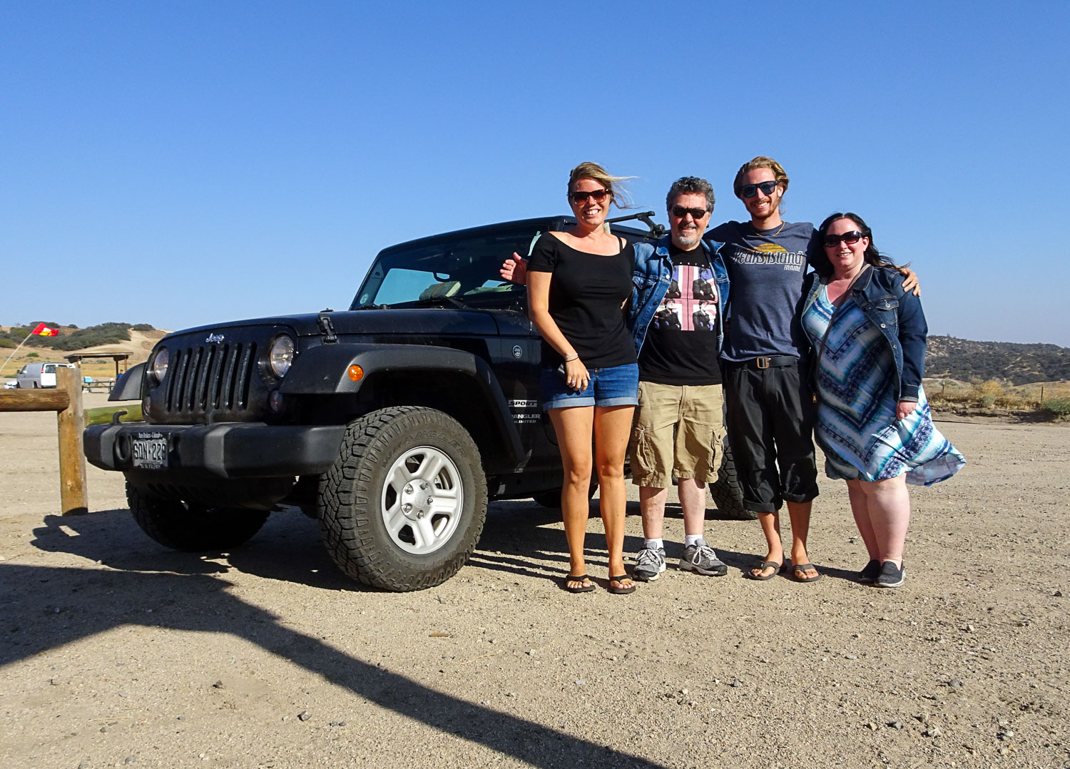 Off-roading with Jordana and Joe in the Tejon Pass
