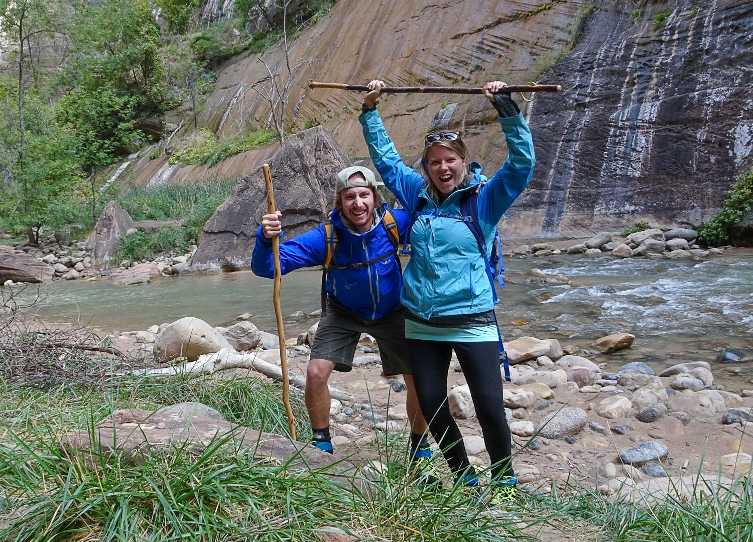 The river trolls of the Zion Narrows!