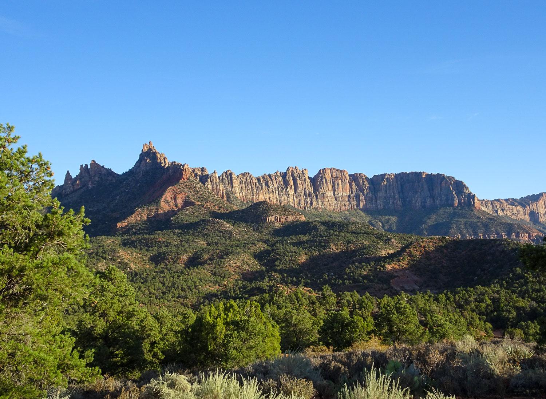 Overlooking Eagle Crag - A popular rock climbing spot!