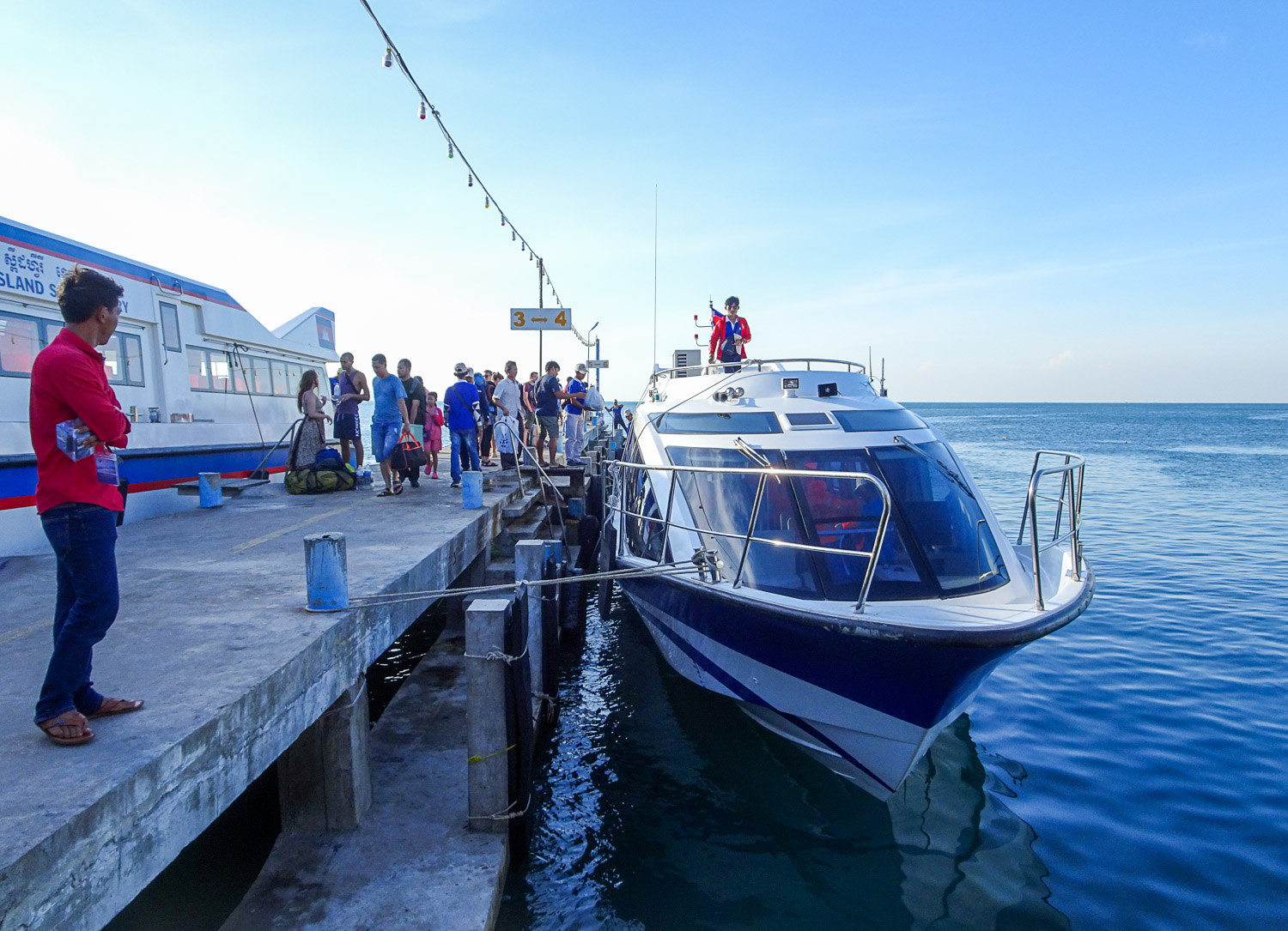 Speed Boat to Koh Rong