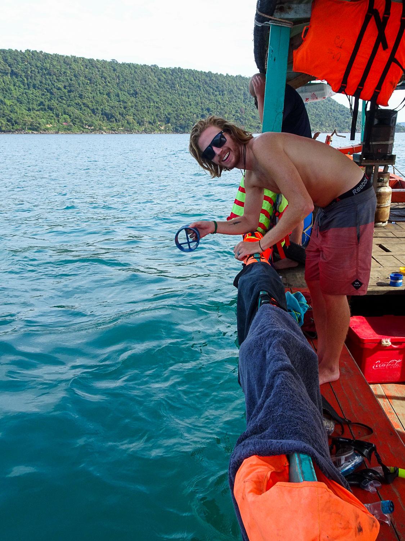 Derrick Fishing