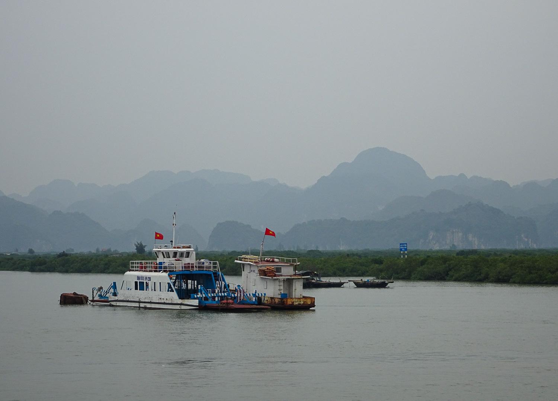 Ferry to Cat Ba Island