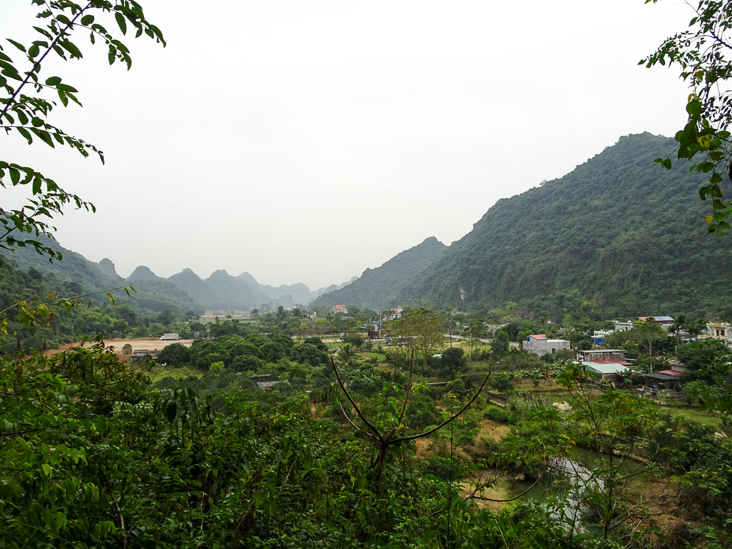 View from Hospital Cave