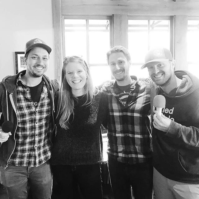 I can't think of a better way to revive our adventure account than with this photo of Derrick and I with the two guys who pretty much inspired our year long trip! We met a friend for brunch in Boulder (@50shoots50states ❤️) and just happened to sit at the table next to Jason and Trav, the creators of @locationindie, the podcast that had SO MUCH to do with Derrick and I packing up and traveling. I've been following them for years now and couldn't believe we'd been lucky enough to meet them serendipitously. It's safe to say that was the best brunch ever and our wanderlust is back in full force 😉🤷🏼‍♀️ #locationindie #zerototravel #extrapackofpeanuts #fulltimetravel