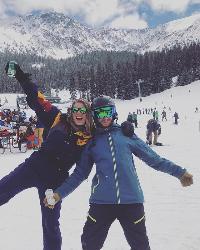 Gapers for lyfe ❤️ #abasin #arapahoebasin #beachdays #beachdaze #gapers #colorado