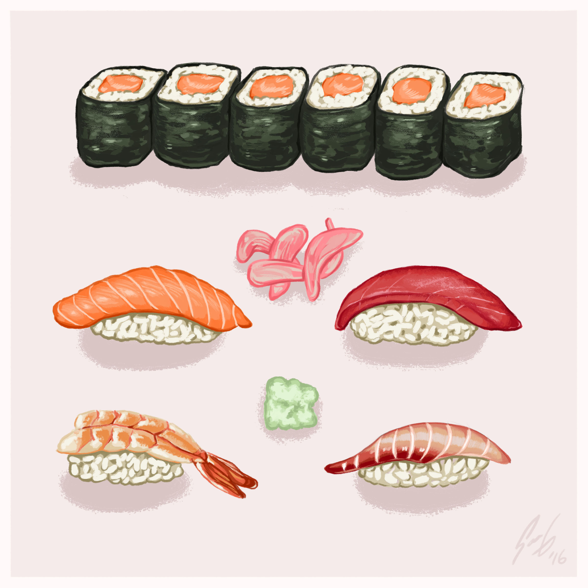 Food Illustration -