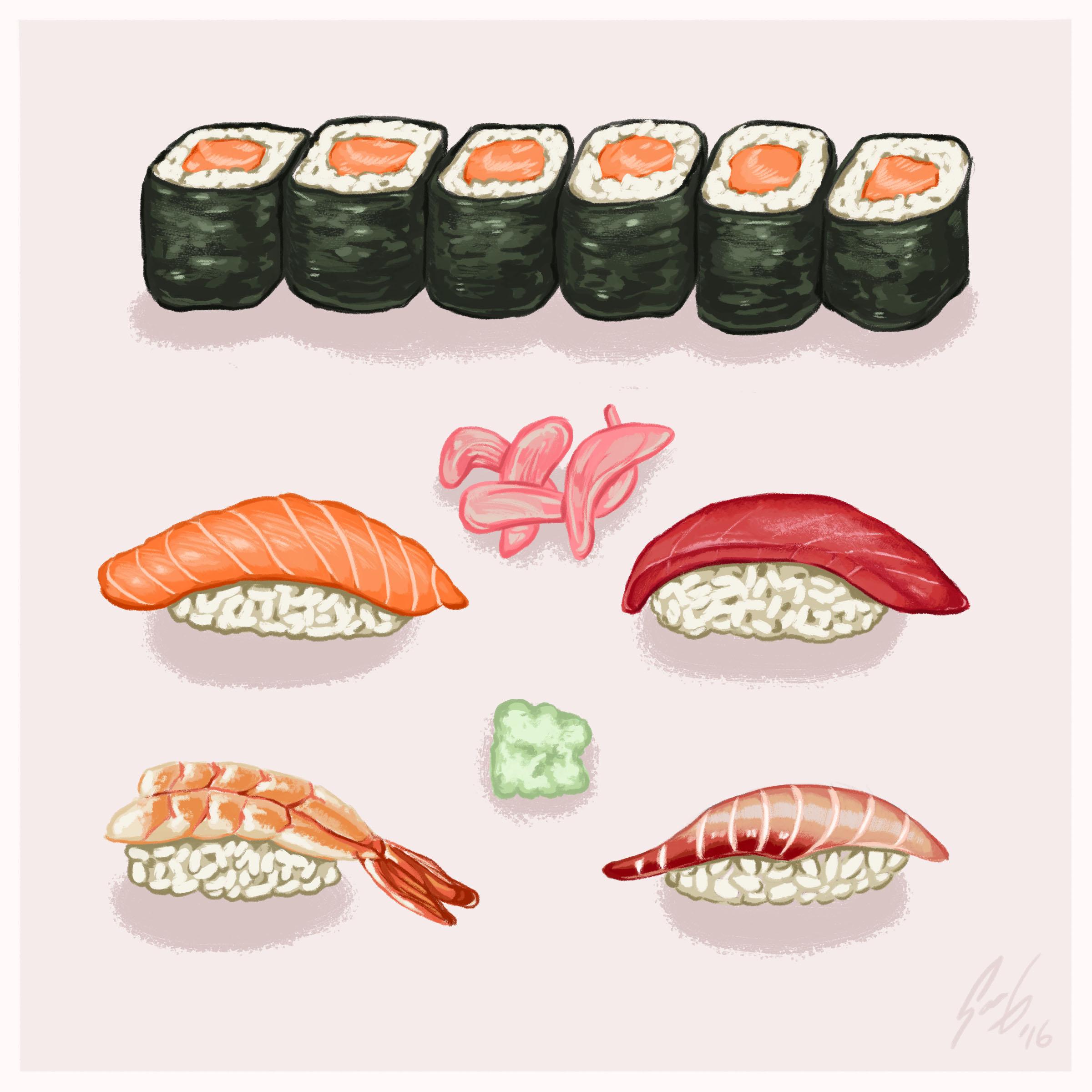 Food Illustration -