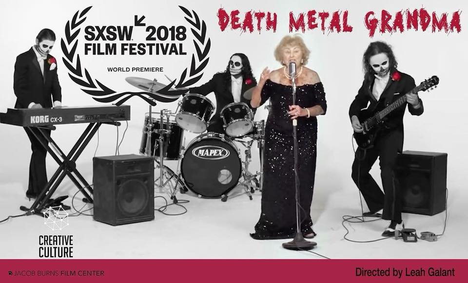 Promotional Poster for Death Metal Grandma starring Pedro da Silva and Lucia Caruso as featured composers