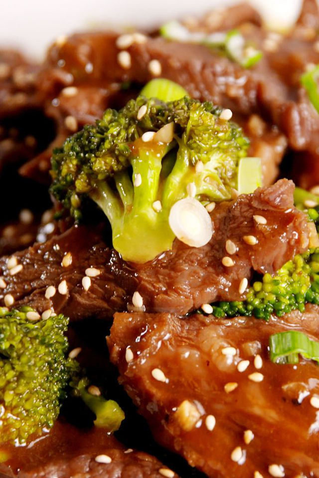 Slow Cooker Beef and Broccoli - 10min Prep, 4 Hour Slow-Cook, Tastes Amazing!!!
