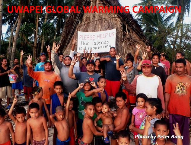 Facebook:   https://www.facebook.com/uwapeicampaign/    Uwapei Global Warming Campaign was selected as the national winner in the Federated States of Micronesia 2019 in the most prestigious environmental prize worldwide, the National Energy Globe Award / More info…  https://www.energyglobe.info/micronesia2019?cl=en&id=337676   Please watch and share this video / click here:     https://www.facebook.com/uwapeicampaign/videos/1628246824057873/