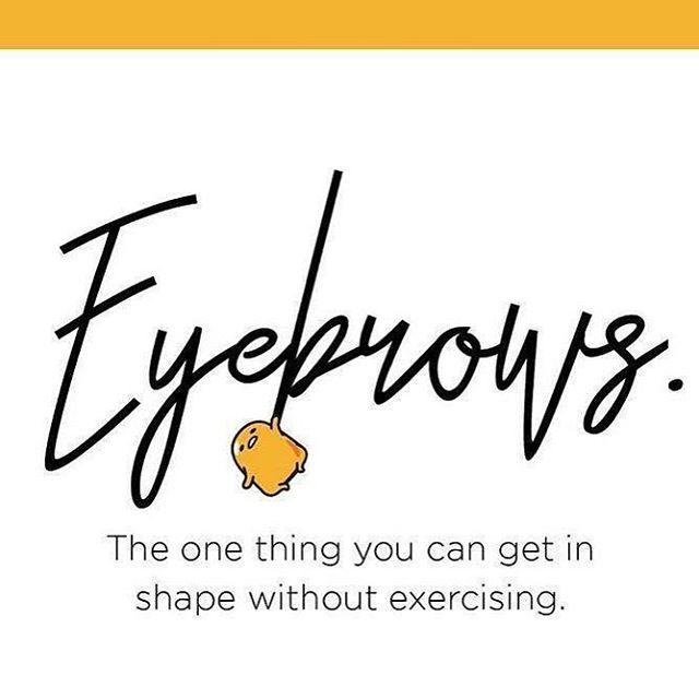 So so true!! If you need a change in shape give me a shout!  #ansoluteskinbyrobi #eyebrows #waxing #refreshspa #copperascove #spaday #centraltx  Www.absoluteskinbyrobi.com