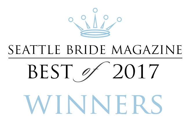 Seattle Bride Magazine Best Floral Designer Award Gather Design Company Seattle Wedding Florist