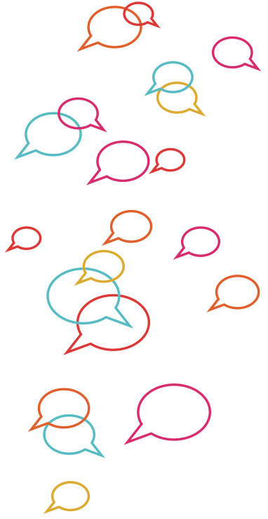 Heard communication bubbles - community