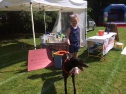 Madaleine & Bob at her summer school fair