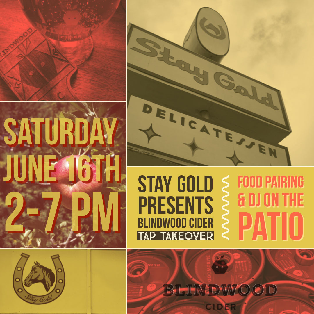 Stay Gold Tap Takeover Oakland - Come join us for at Oakland's Stay Gold Deli. We'll be pouring all 3 of our delicious flavors, paired with Stay Gold's amazing BBQ sandwiches and small plates. Did we mention a DJ on the outside patio? Sounds like a nice little Saturday...Stay Gold Deli2635 San Pablo Ave., Oakland, CA 94612