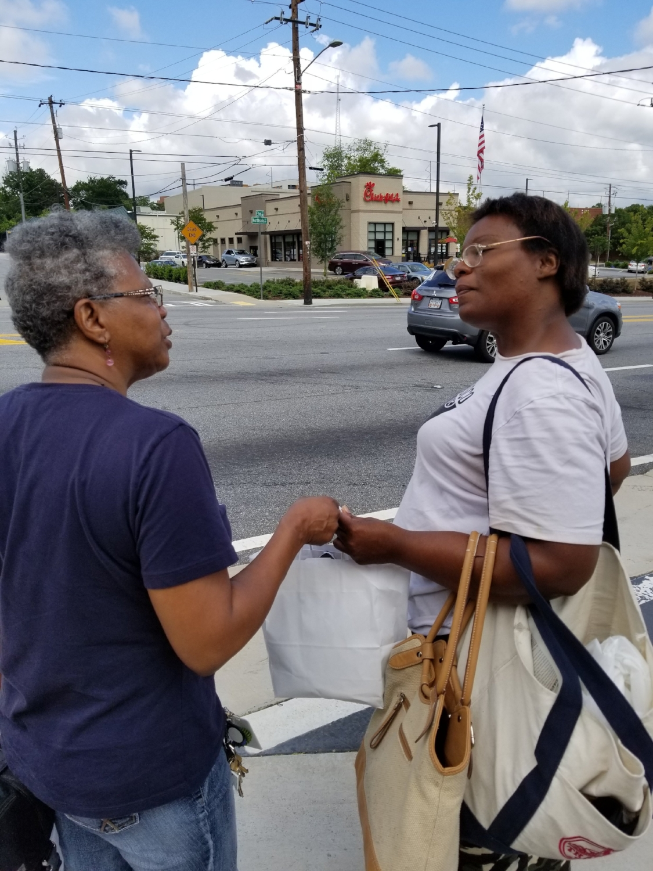 On the streets of Atlanta, GA.