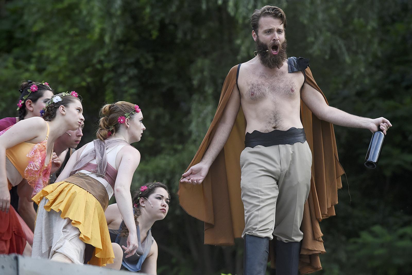 Saratoga Shakespeare's  A Midsummer Night's Dream.