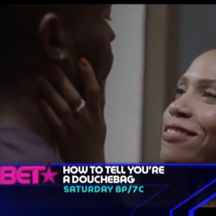 Still of Marchelle as Tanya in  How to Tell You're a Douchebag 's premiere on BET.