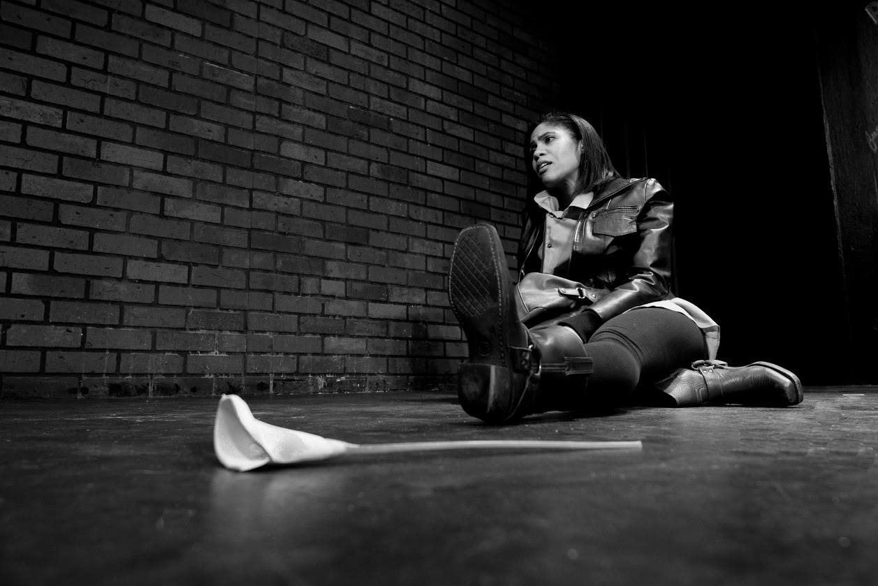 Marchelle as Abby in Torrent Theatre's  Play Off .