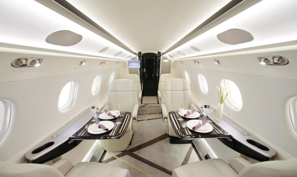 There is nothing like taking a private jet to your destination.