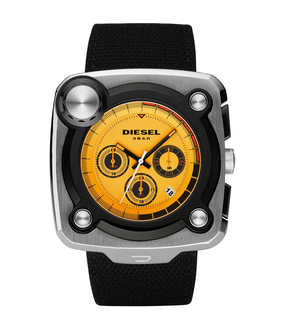 "DIESEL ""STUDIO MIXER"" WATCH"