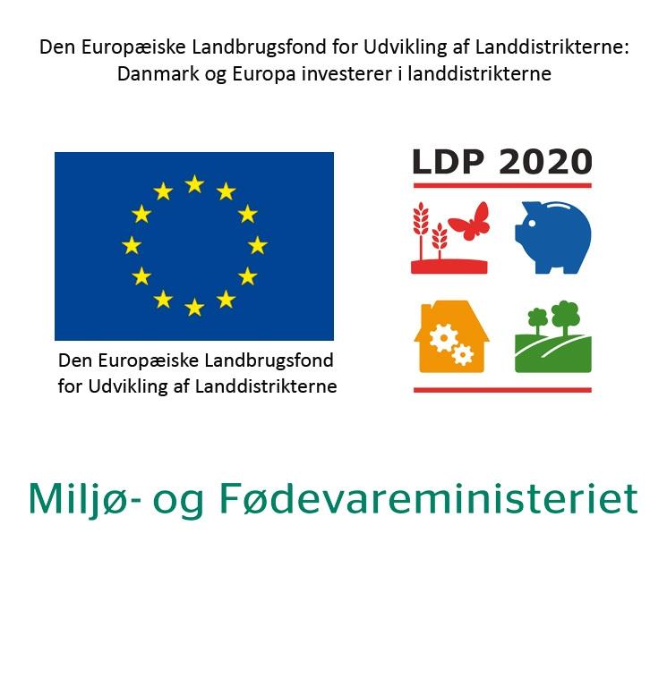 Vi modtager støtte fra EU til vores fåreproduktion -