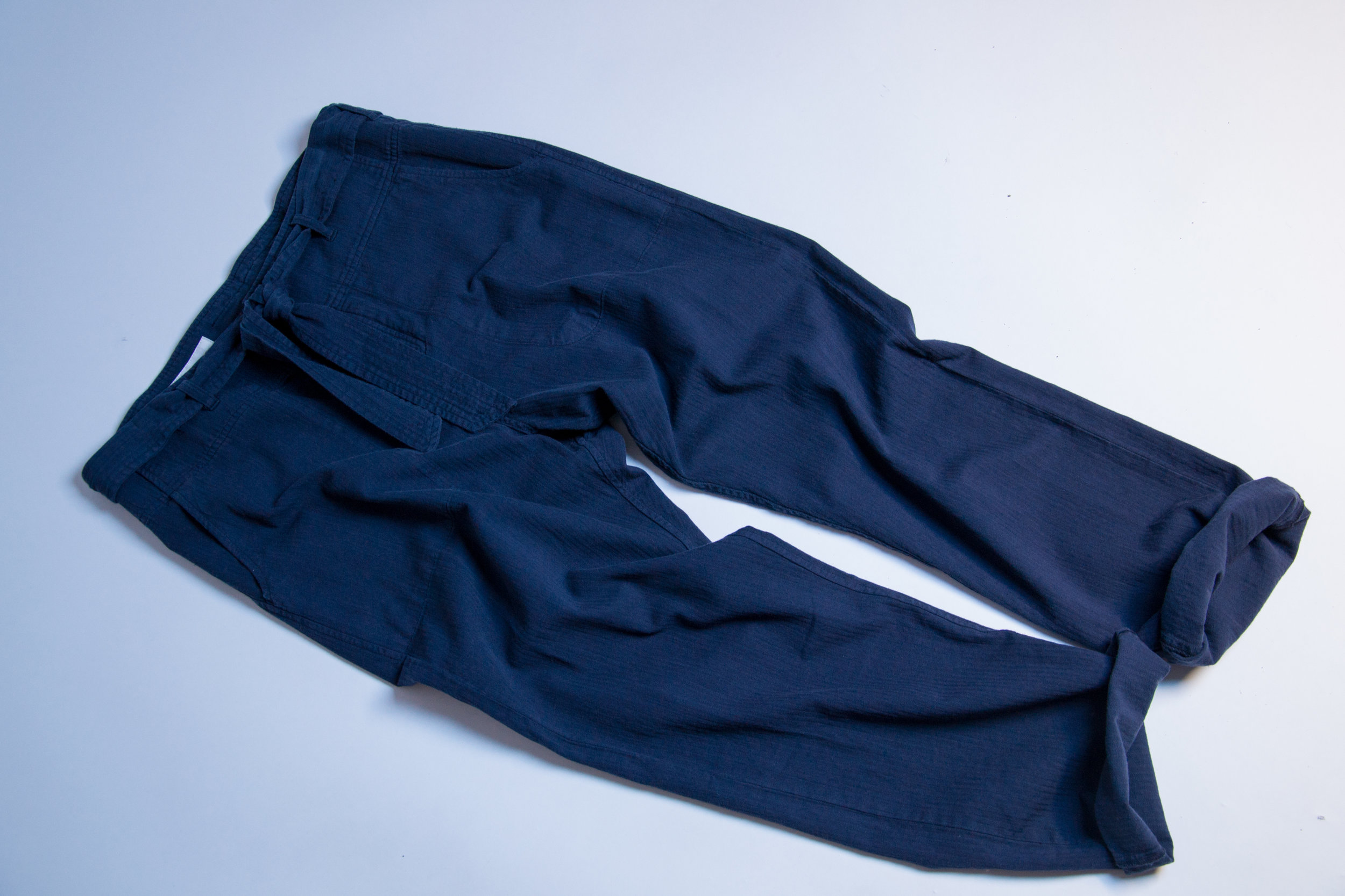 TOMMY Tie trousers indigo