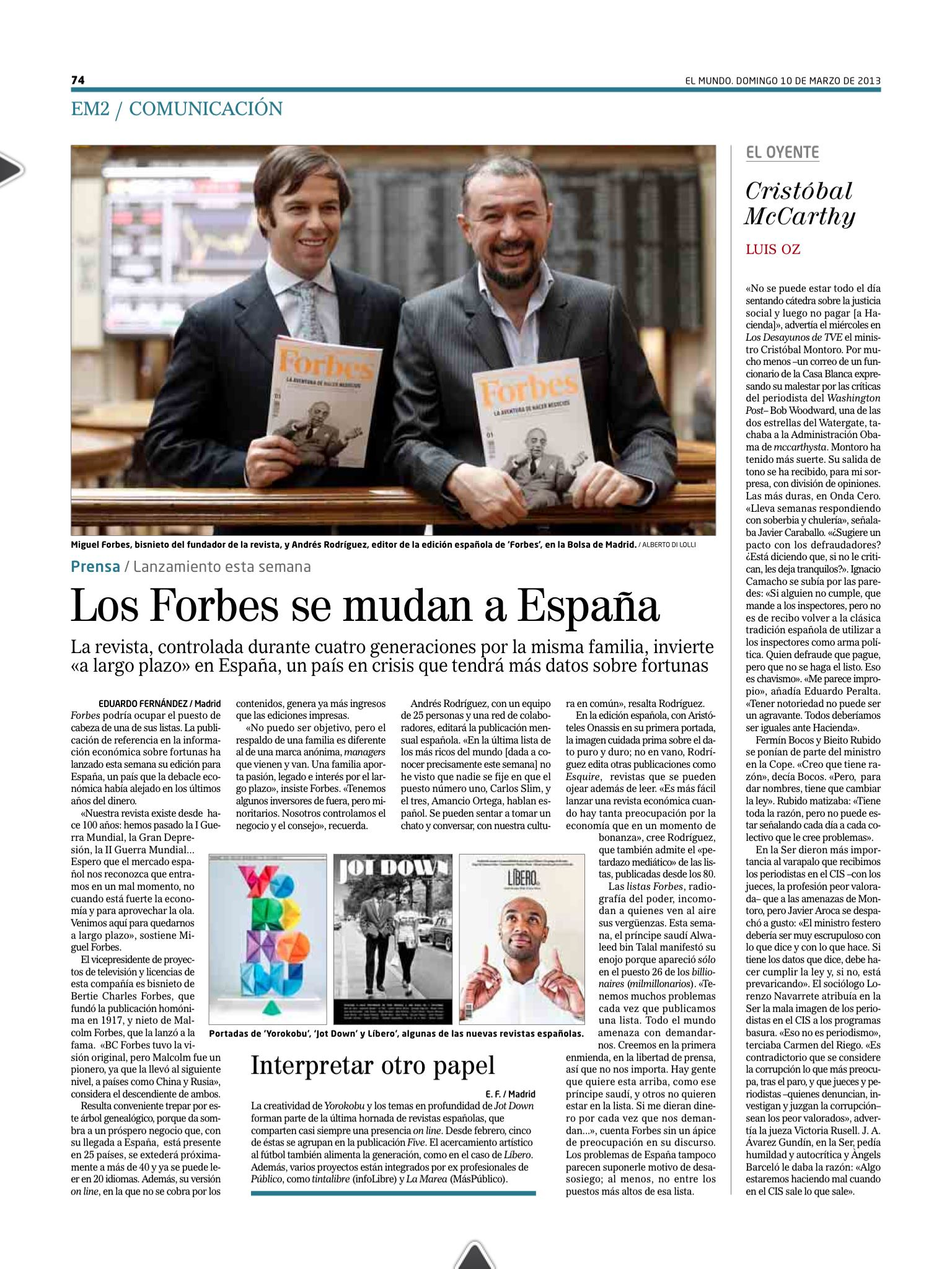 forbes and spain