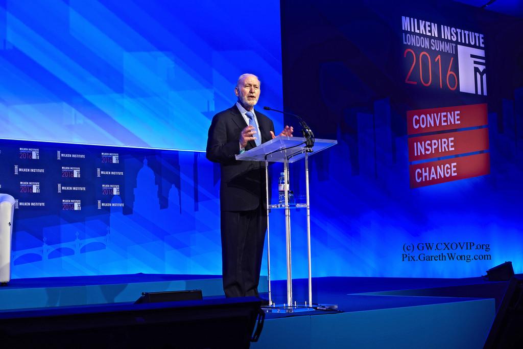 Mike Klowden , CEO of the  Milken Institute