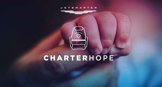 #Charterhope allows members to send private charters to immunocomprised infants home for the first time. @jetsmarter
