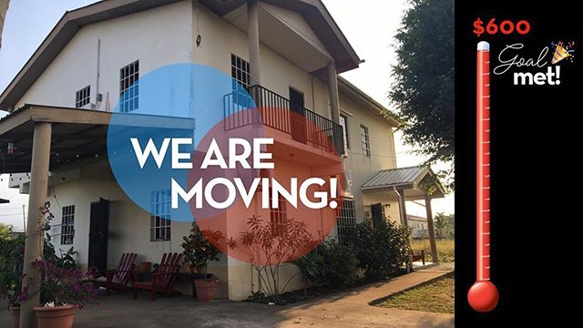 🎉WE HAVE MET OUR GOAL!🎉 Thank you to everyone who prayed, shared our post, and partnered with us financially. Yasha Home is moving THIS month and we couldn't have done it without your generous support and prayers.