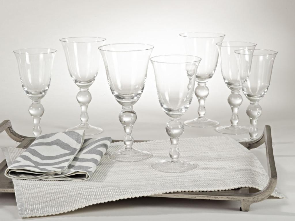 Verona Wine Glasses by Saro