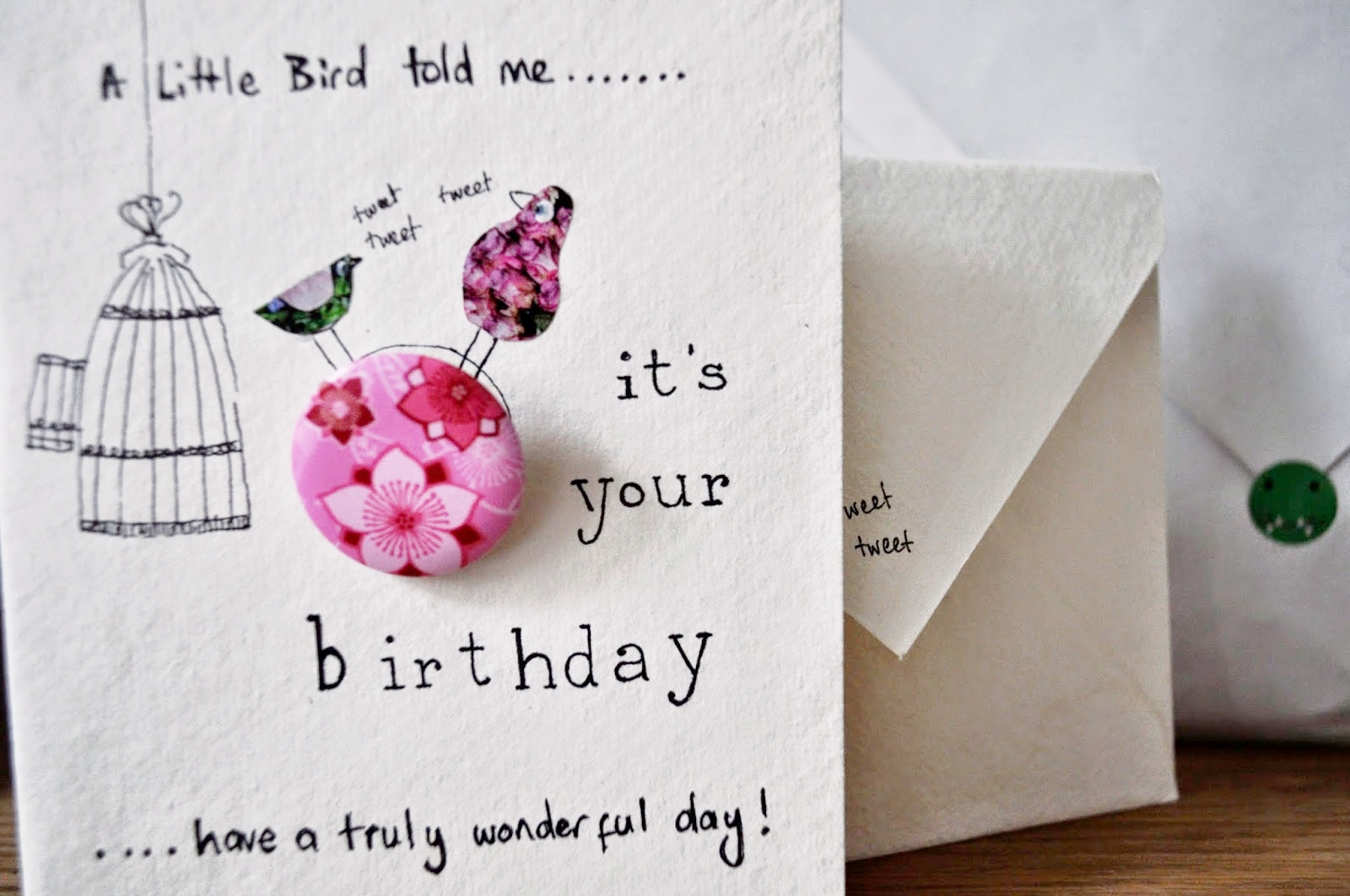 Handmade birthday card by Georgette