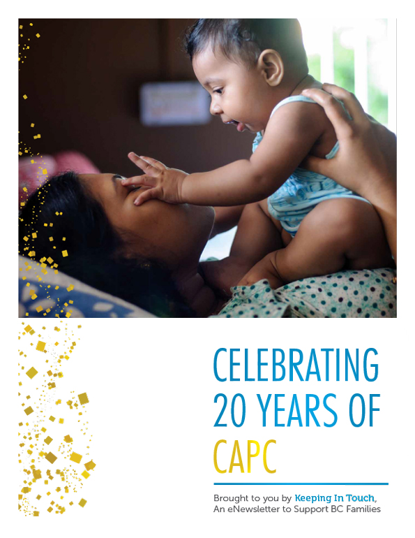 Celebrating 20 Years of CAPC - CAPC Special Edition Newsletter