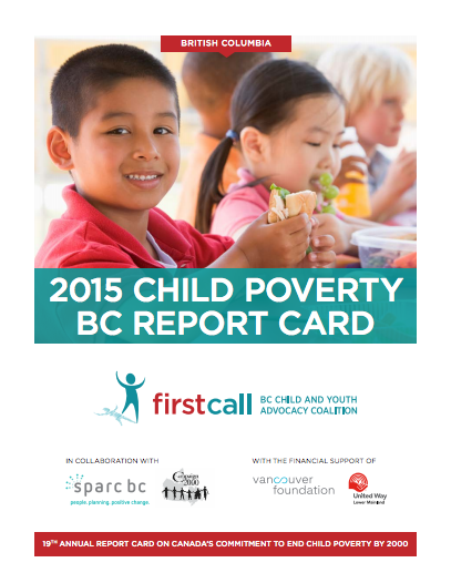 2015 Child Poverty Report Card