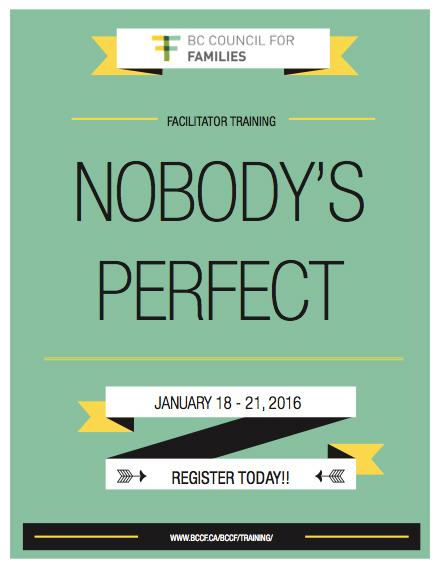 Nobodys Perfect Facilitator Training