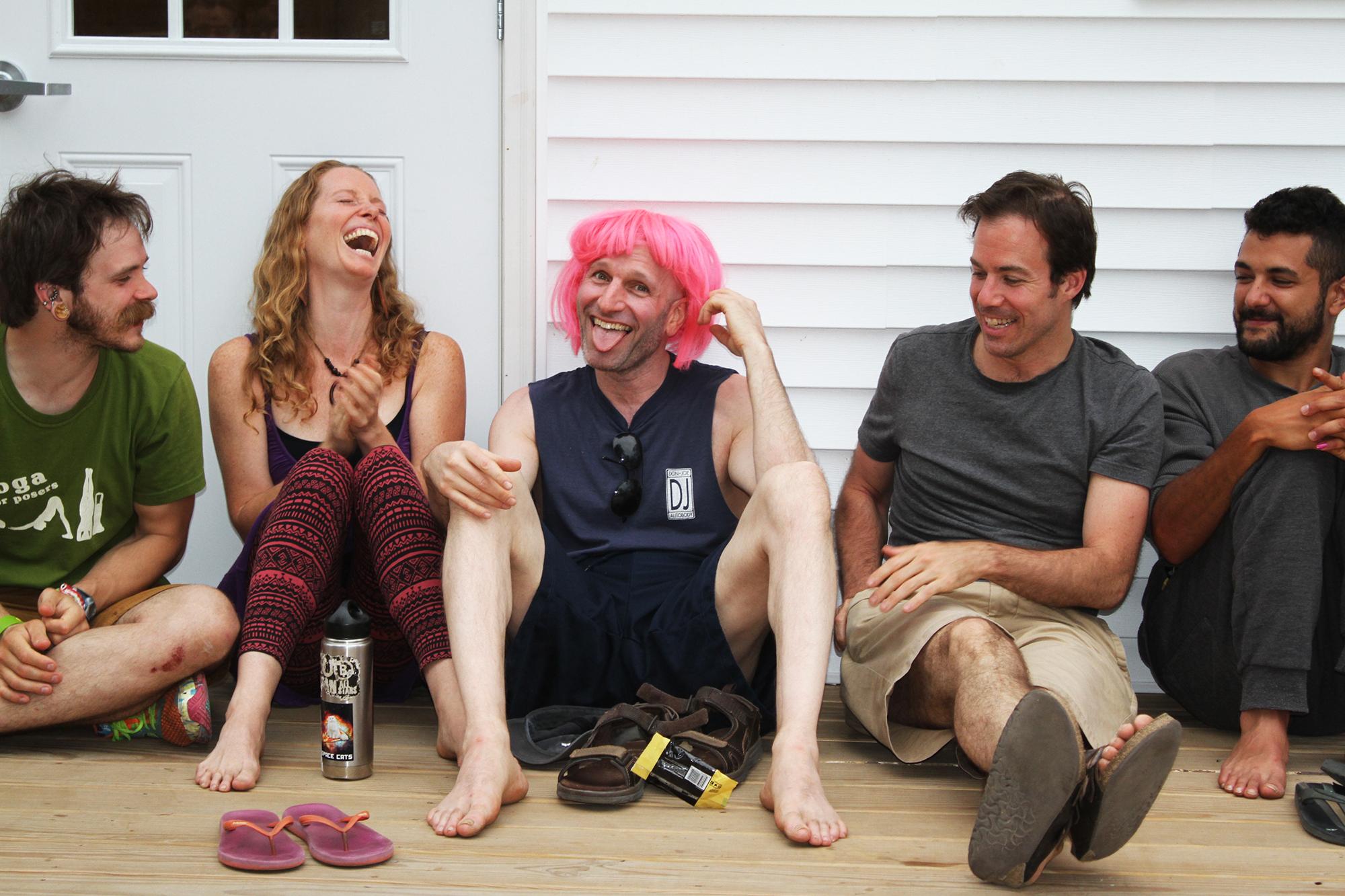 Guy in Pink Wig.JPG