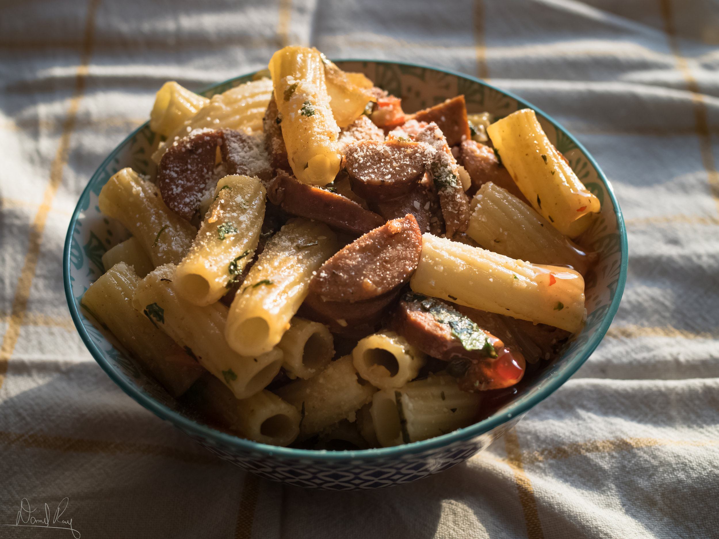 Italian Sausage Pasta - Spicy, Sweet, Any Way You Want It