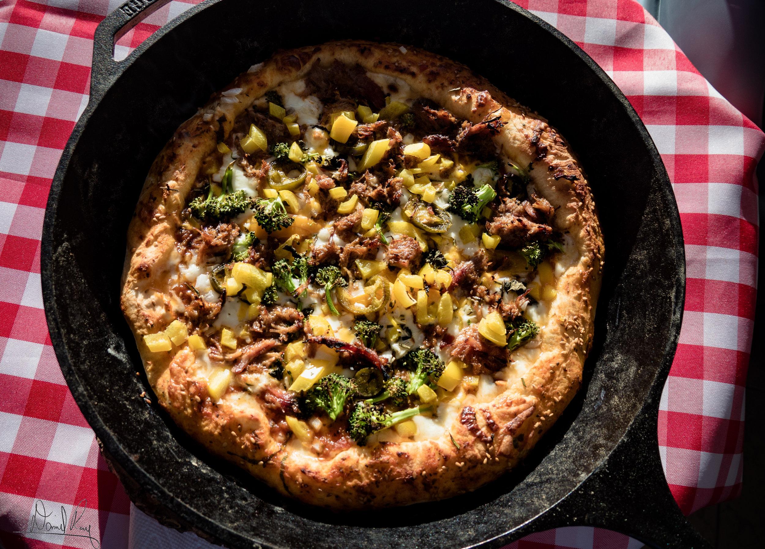 Stuffed Crust Pizza - Where it all began