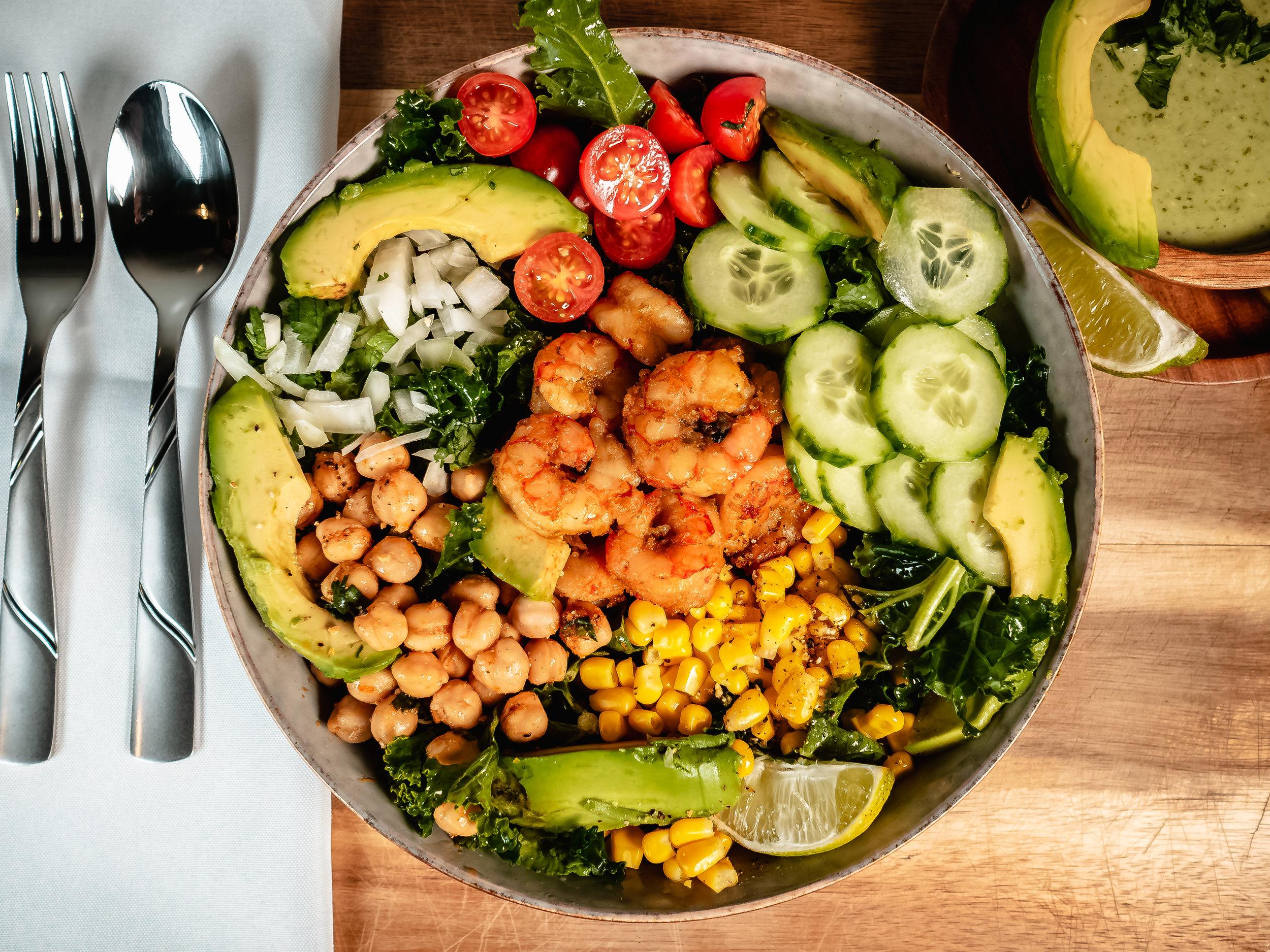 Shrimp Salad - A Great Easy Healthy Option