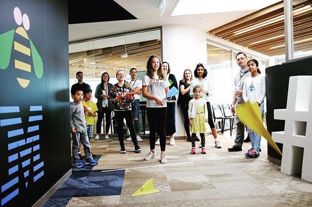 On 3 November 2018, Design Thinking Games was proud to host and sponsor the first ever Global Children's Designathon in Australia.  Alongside 1,000 little humans across 30 different cities, we worked together through a design-thinking session on how we can save life on land, and reduce our impact to deforestation.  This was @designthinking.games's very own paper plane warm-up sesh. As you can tell, it was a serious game 😉 #DesignPlayers #PlayinProgress