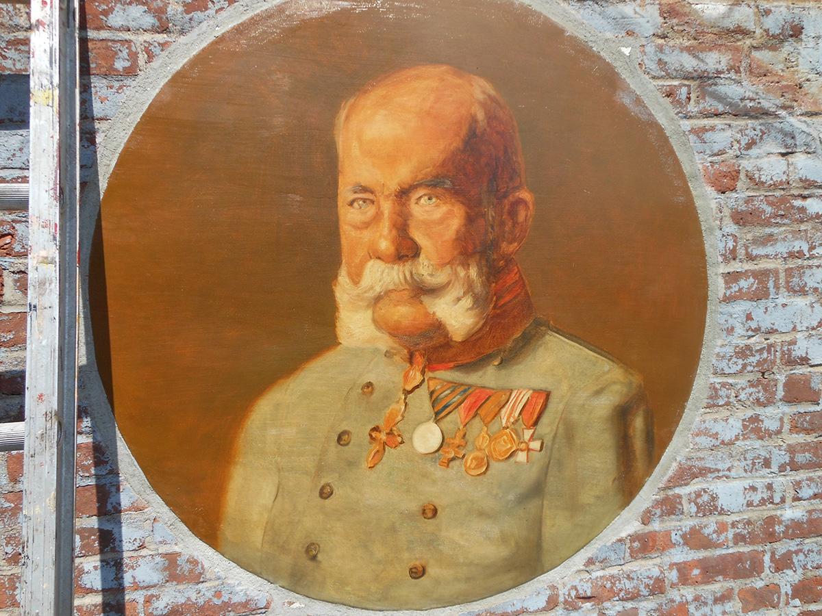 Franz Joseph I Radegast Hall_Oil on metal plate(c).jpg