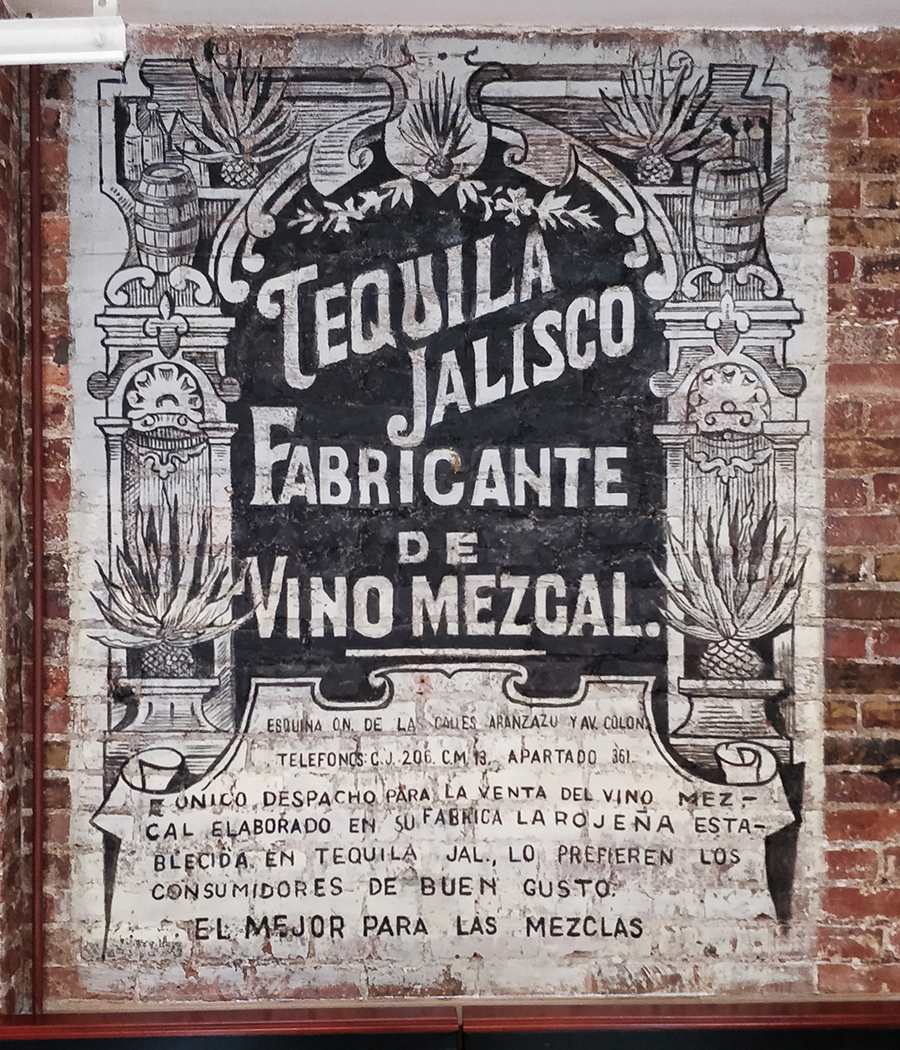 Tacuba Tequila Advertisement,_Acrylic on brick,_72 x 48  inch. (c).jpg