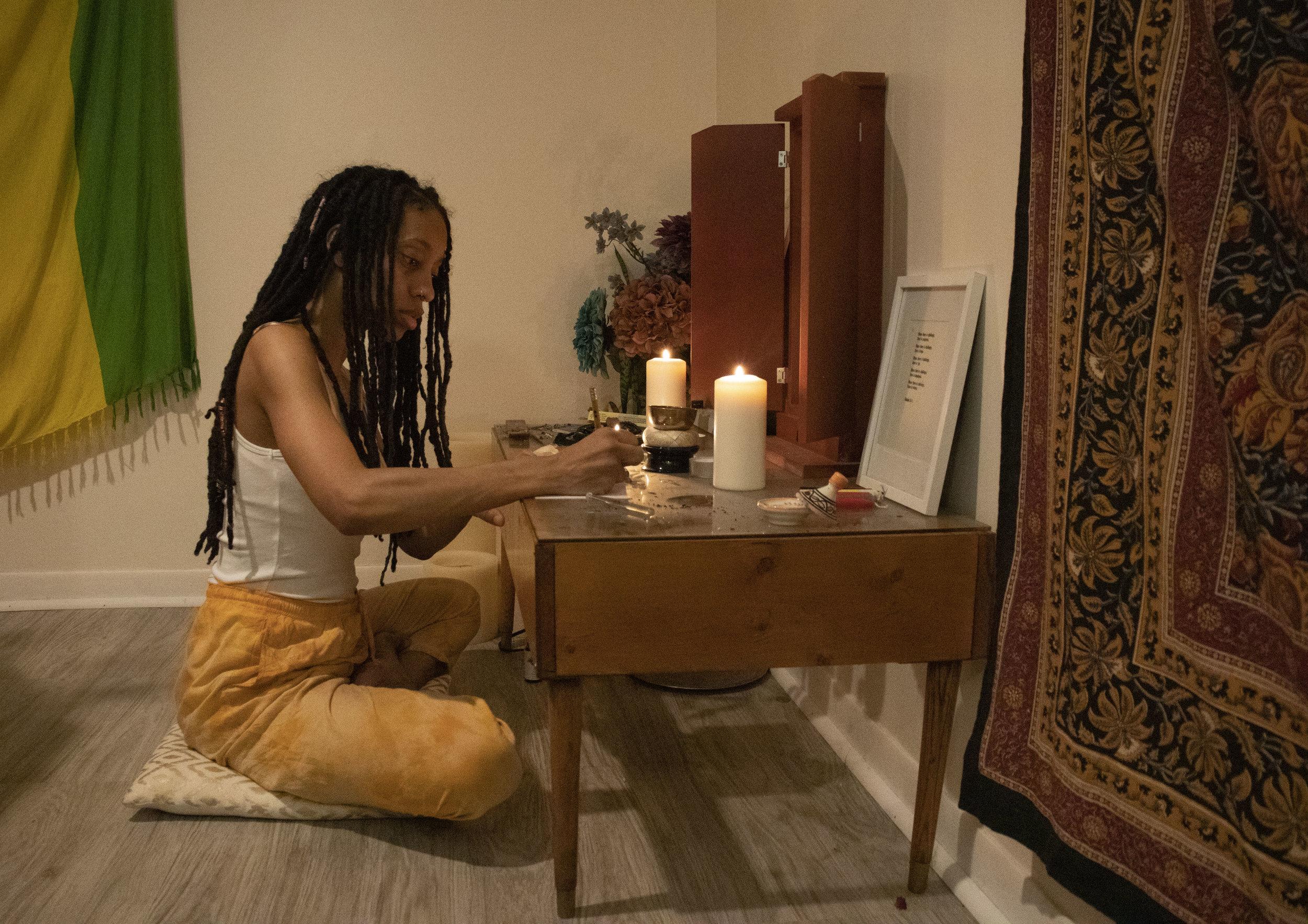 Me at my altar