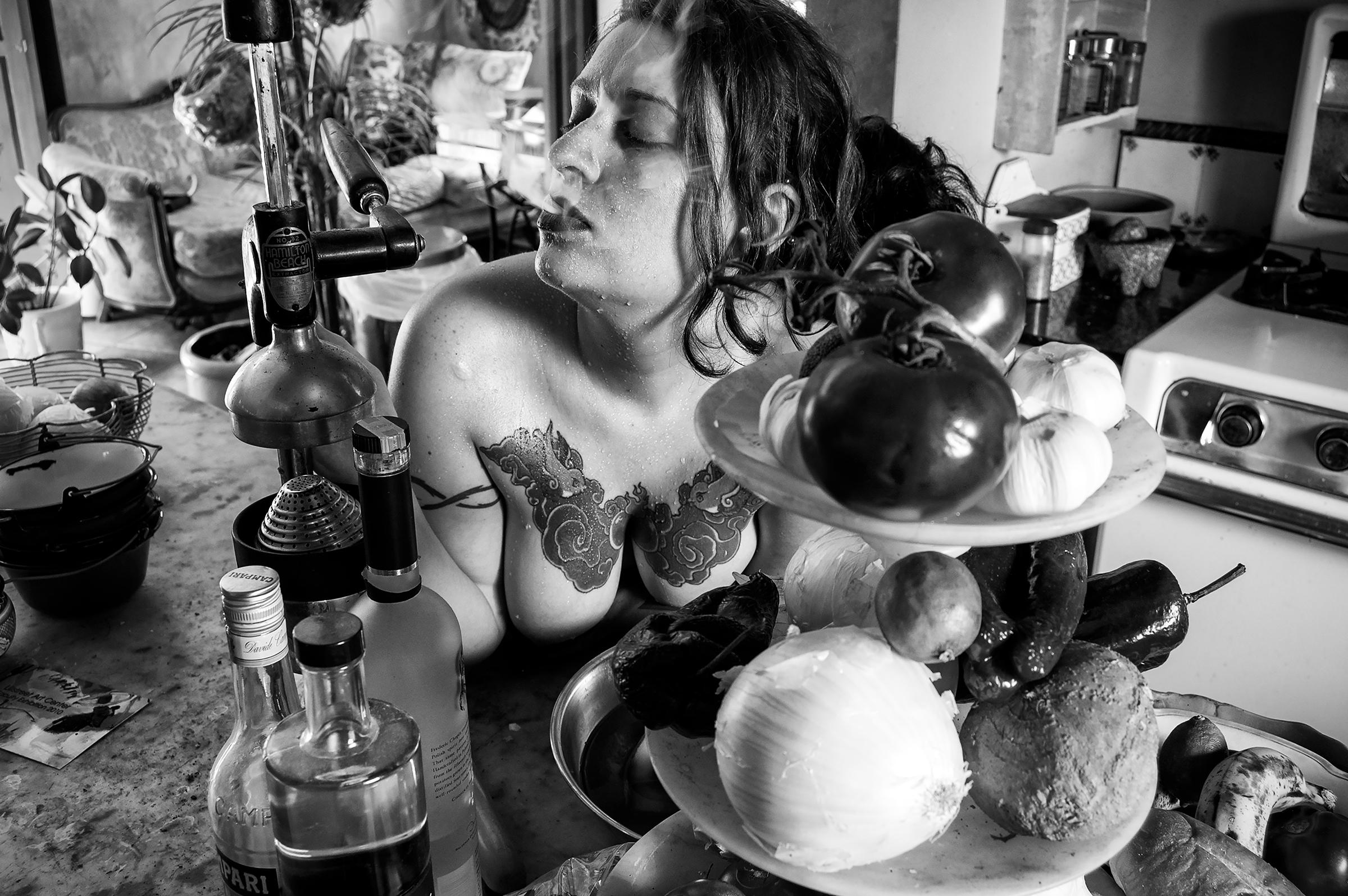 Alex in the kitchen | © preston lewis thomas