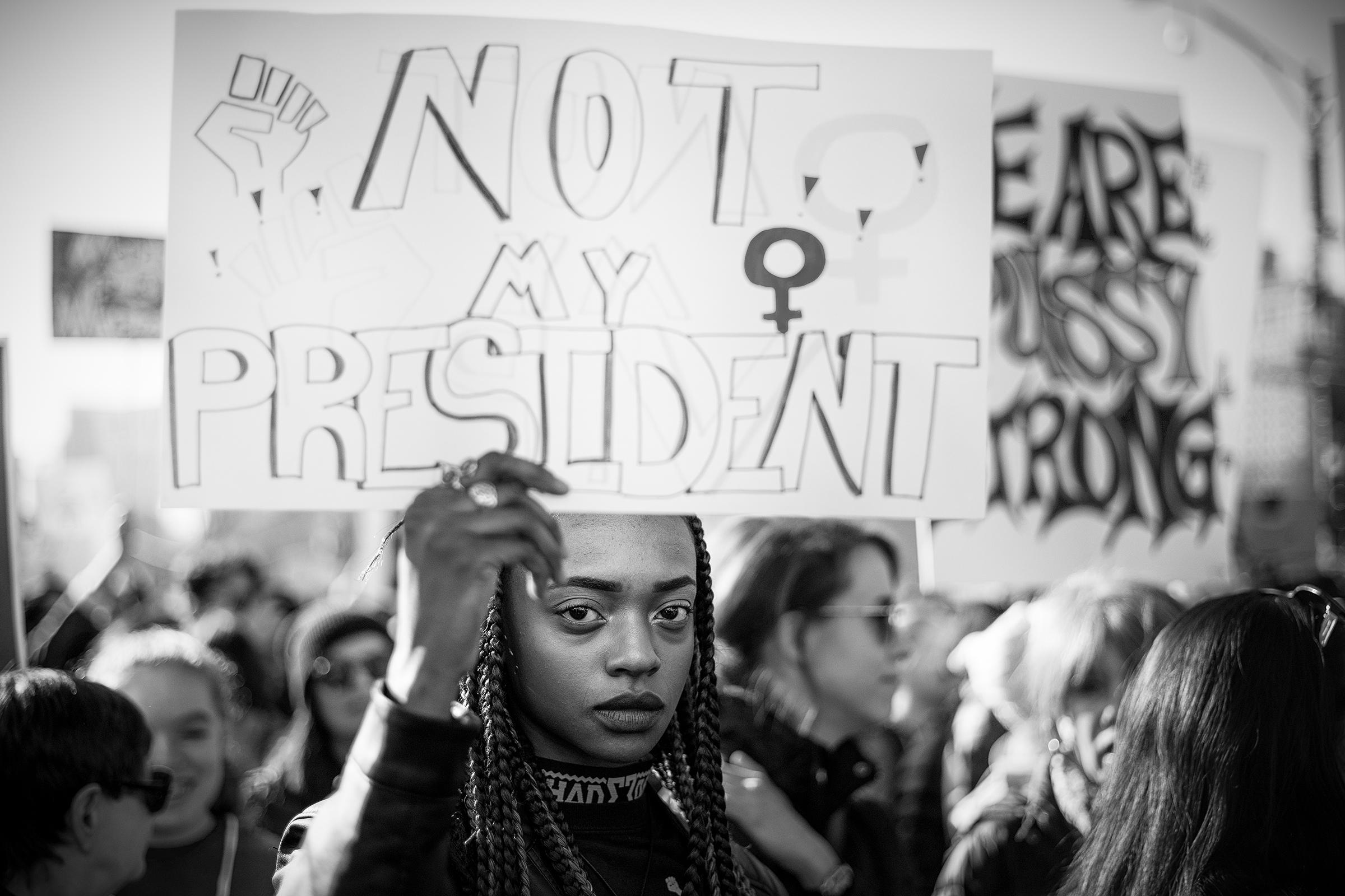 not my president | © preston lewis thomas