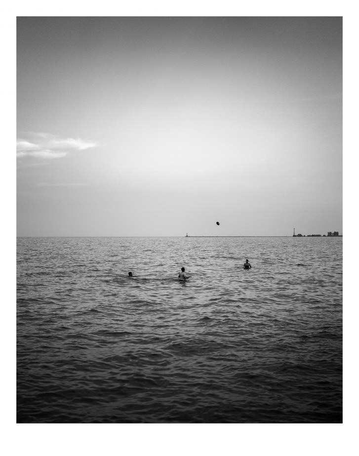 The Beach Extemporaneous, No.5 | Evening at the beach