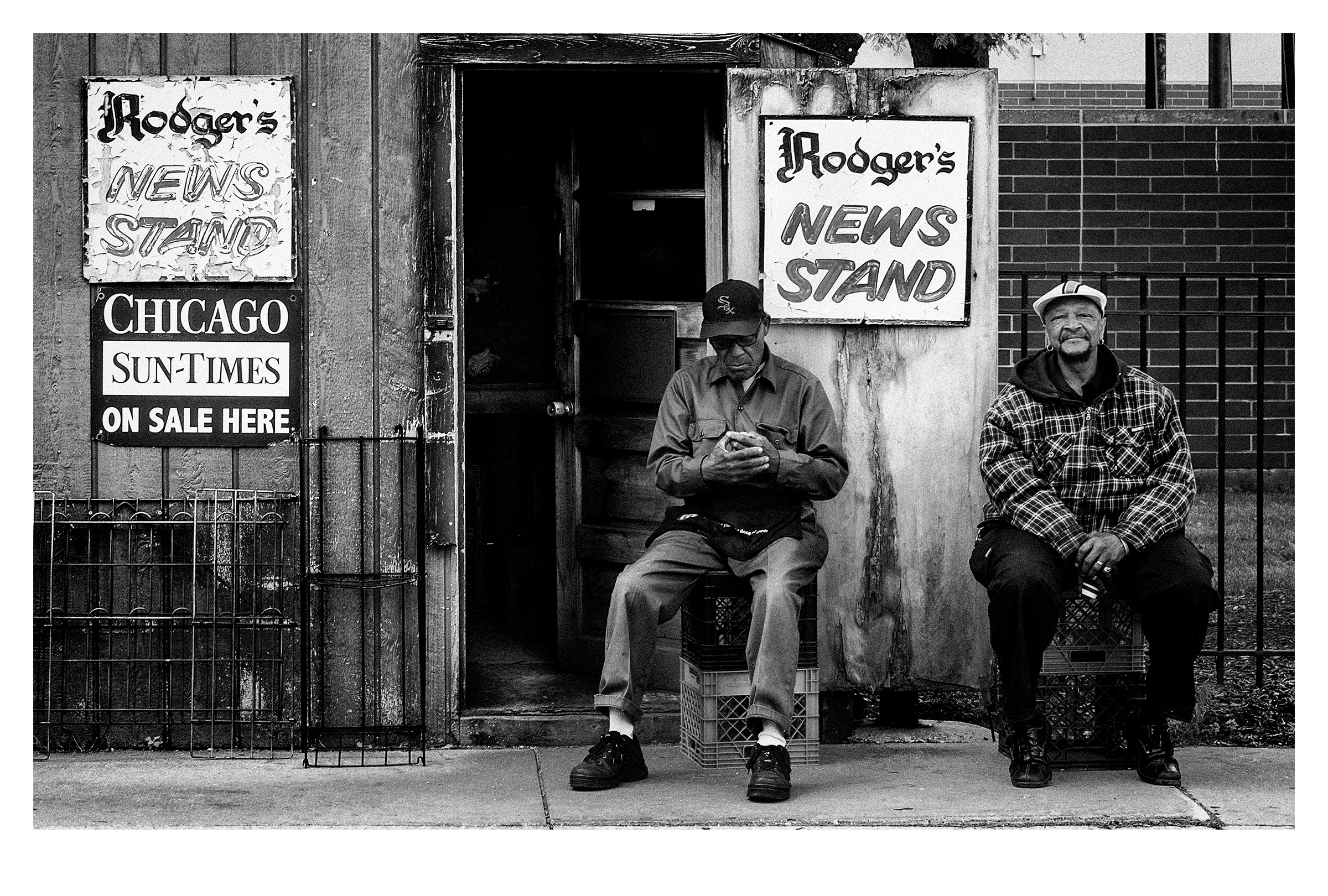 Rodger's News Stand, Chicago