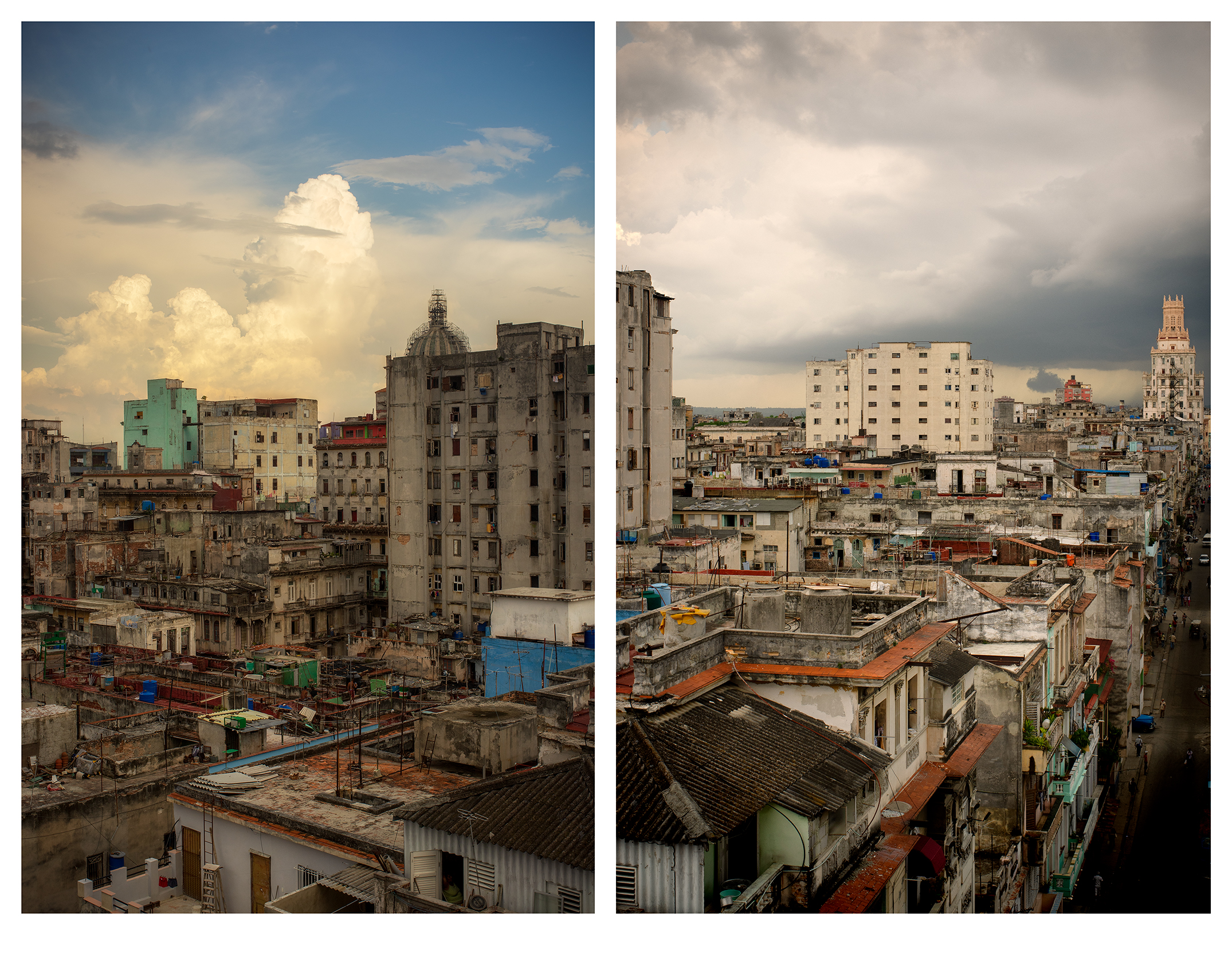(L) The Beautiful Decay | (R) From My Balcony, No.3