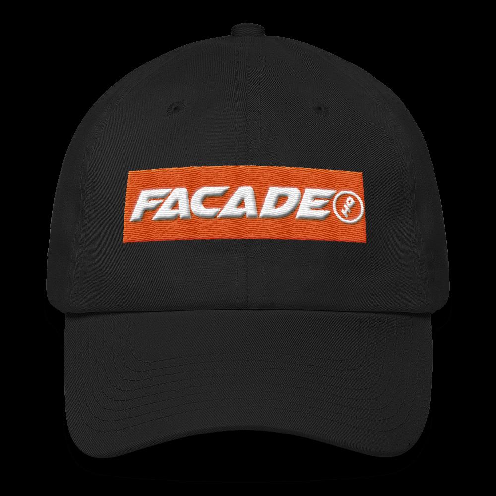 Embroidered Facade HQ Logo Cap - $40